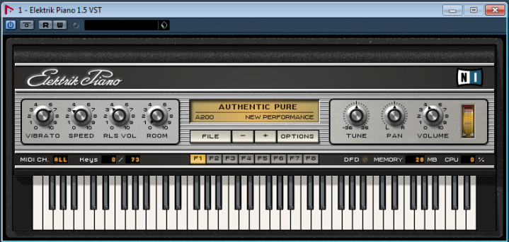 Native Instruments Electronic Piano 1.5